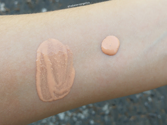 Swatches Base de Teint Sublimatrice Couleur Caramel