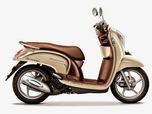 Honda Scoopy eSP Stylish Chic Cream