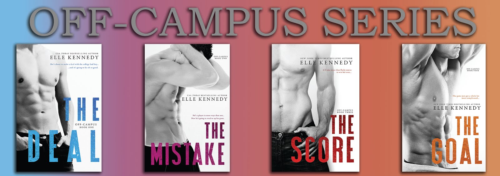THE GOAL (Off Campus #4) by Elle Kennedy Book Review – BEX HARPER