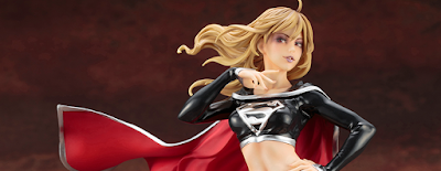 San Diego Comic-Con 2018 Exclusive DC Comics Dark Supergirl Bishoujo Statue by Kotobukiya