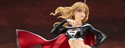 San Diego Comic-Con 2018 Exclusive DC Comics Dark Supergirl Bishoujo Statue by Kotobukiya
