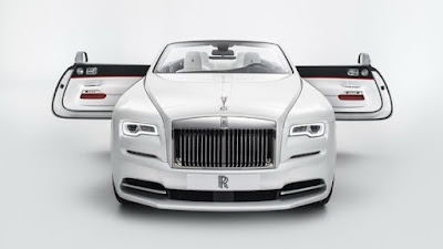 Rolls-Royce Dawn Fashion Inspired special edition pics