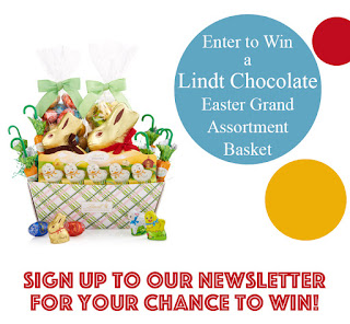 Enter the Lindt Chocolate Easter Basket Giveaway. Ends 4/16. Open US/CA