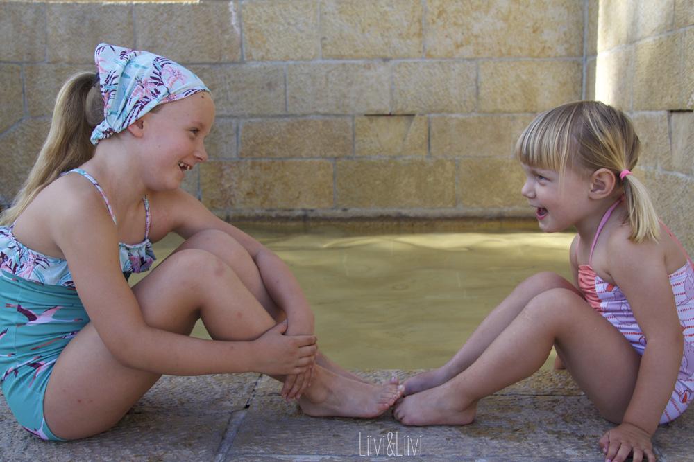 Liiviundliivi Cosi Swimsuit Meets Spoonflower
