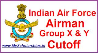 Indian Air Force Airman Cutoff 2018