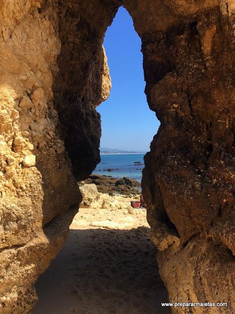 cuevas en el Algarve