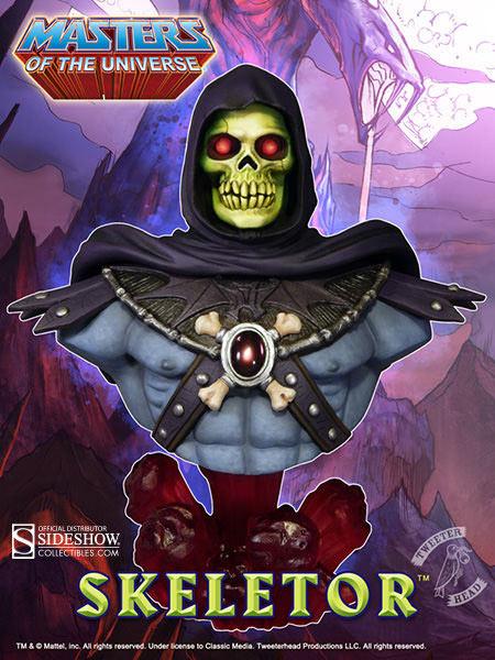 Busto Skeletor de Masters del Universo