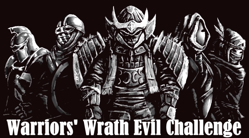 Warriors' Wrath Evil Challenge Download Poster