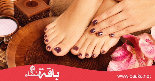 طريقة ازالة الجلد الميت من القدمين بسهولة