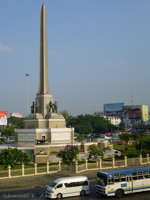 Another shot of Victory Monument in Bangkok