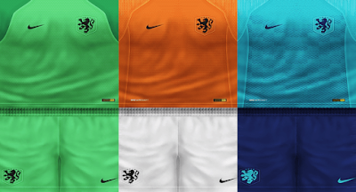 PES 6 Kits Netherlands National Team Season 2018/2019 by VillaPilla