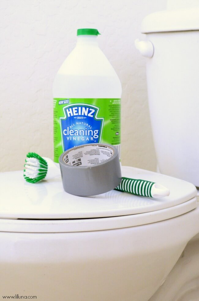 10 Genius Tips To Deep Clean Your House - Toilet Siphons