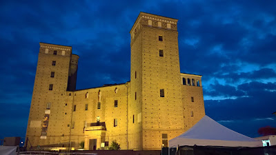 The castle of Fossano: Castello dei Principi d'Acaja.