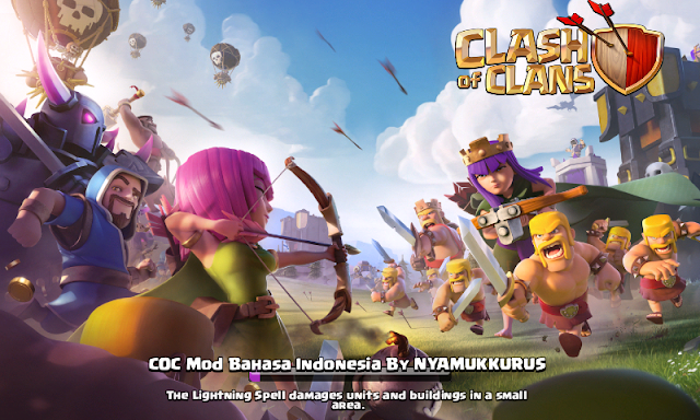Clash of Clans Mod Bahasa Indonesia