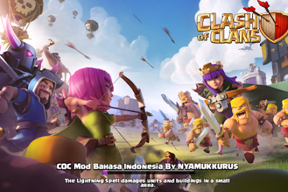 Tutorial Clash of Clans Mod Bahasa Indonesia