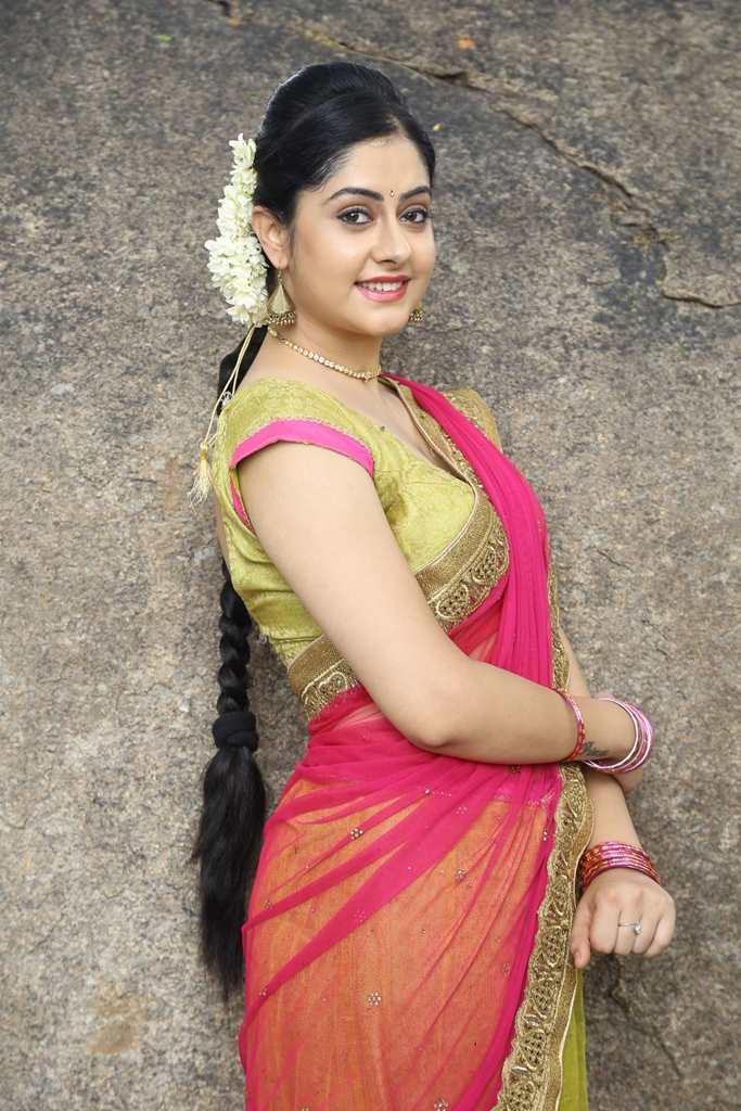 Ronica Singh in Half Saree at Gilli Danda Movie Launch Photos
