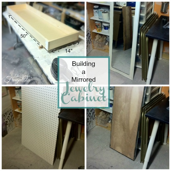 How to build a Mirrored Wall Mount Jewelry Cabinet