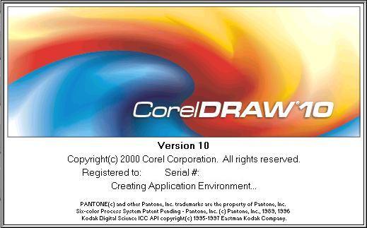 Sejarah CorelDRAW - CorelDRAW Versi 10.0 (2000)