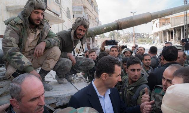 سوريا فريسة لإعادة بناء ديكتاتورية