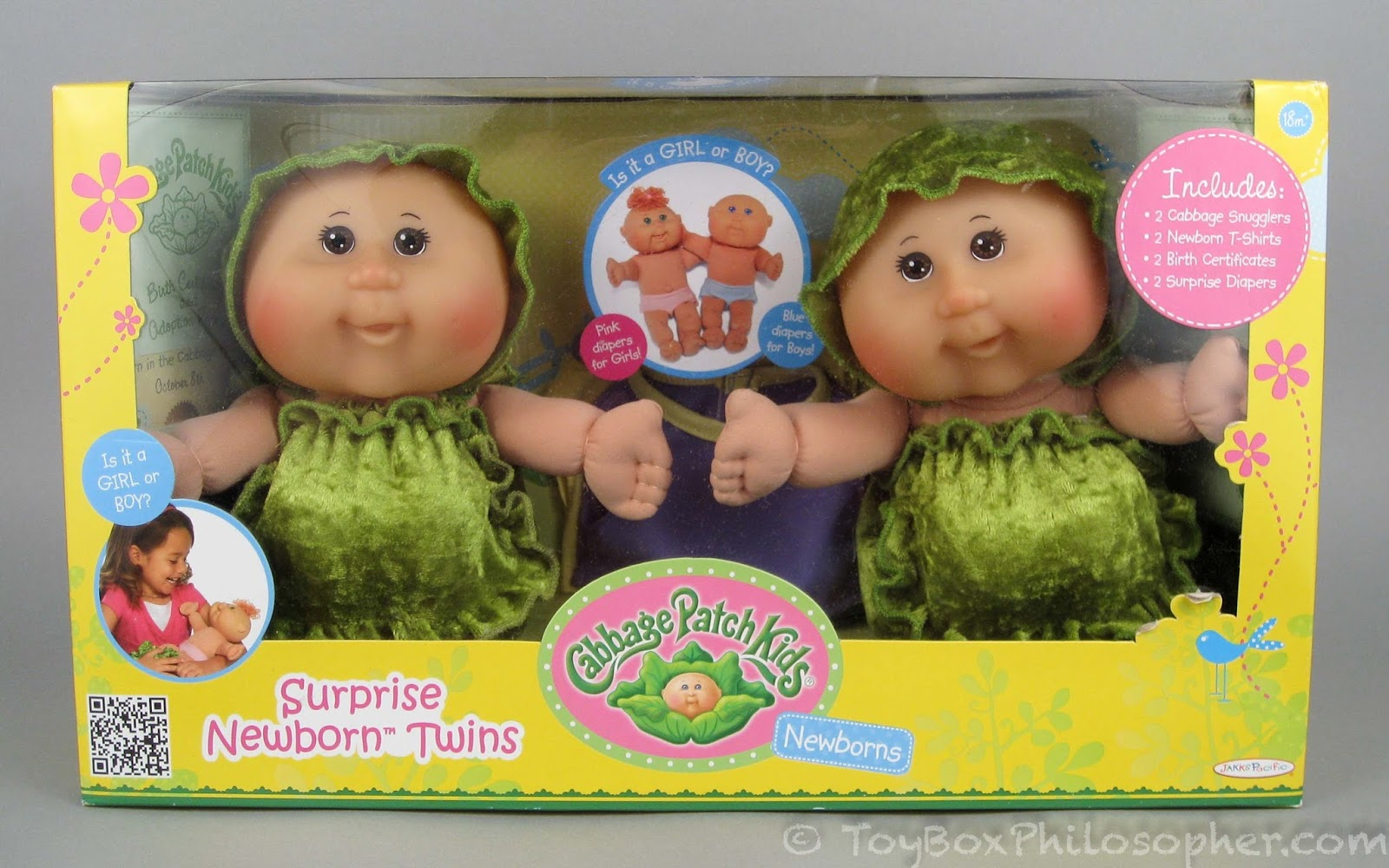 cabbage patch kids surprise newborn twins discontinued by jakks pacific