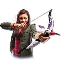 Nerf propose enfin une arme pour les filles : l'arc de Rebelle