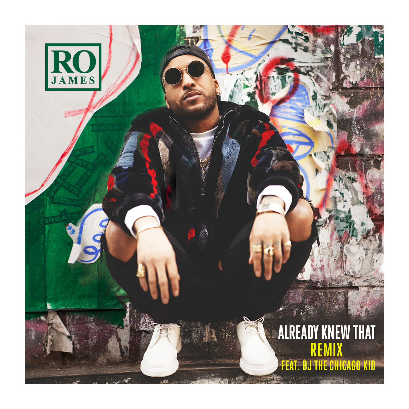 Ro James - Already Knew That (Remix) [feat. BJ the Chicago Kid] - Single Cover