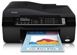 Epson WorkForce 520 Driver Downloads