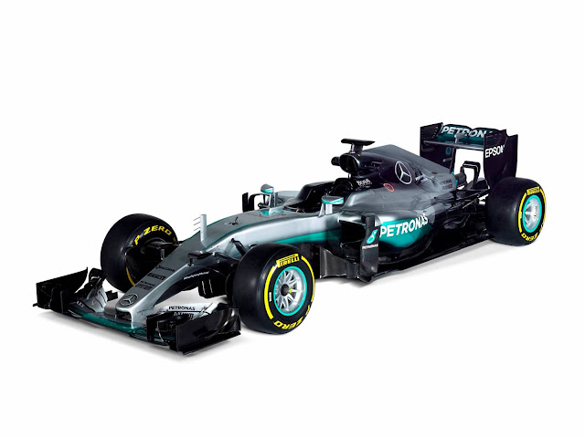 Mercedes F1 W07 Híbrido