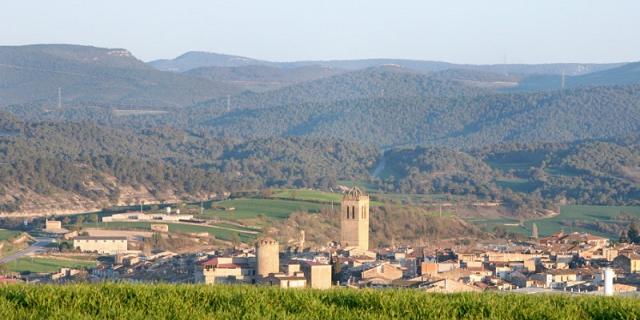 Vista de Santa Coloma de Queralt
