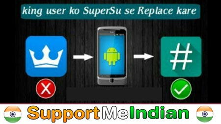 king user ko super su se replace kaise kare