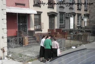 Barrio judío ortodoxo de Brooklyn