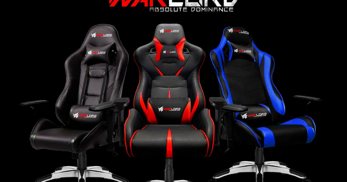 Warlord Premium Gaming Seat Series Launched Hexmojo