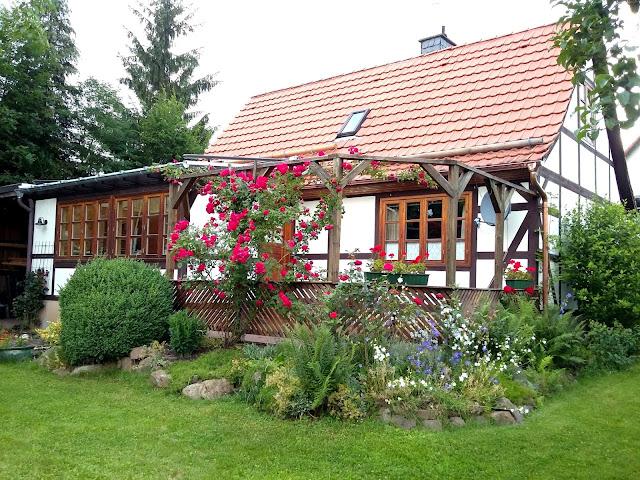 Märchenhaftes Ferienhaus Knusperhäuschen Weserbergland im Land der Gebrüder Grimm