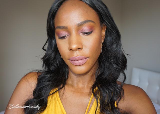 Huda Beauty Mauve Obsessions Eyeshadow Palette | bellanoirbeauty.com