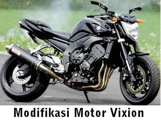 Cara Modifikasi Motor Dan Gambar Modifikasi Motor