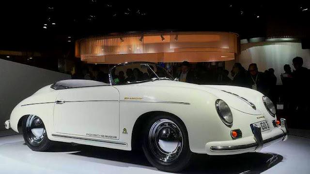 Porsche 356 Speedster Tokyo Motor Show 2017