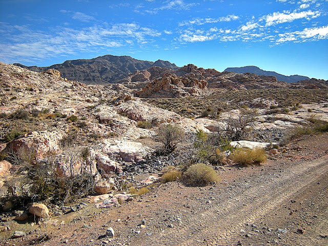Buffington pocket Clark County Nevada Valley of Fire Muddy Mountains thrust belt Jurassic Cambrian geology travel field trip copyright rocdoctravel.com