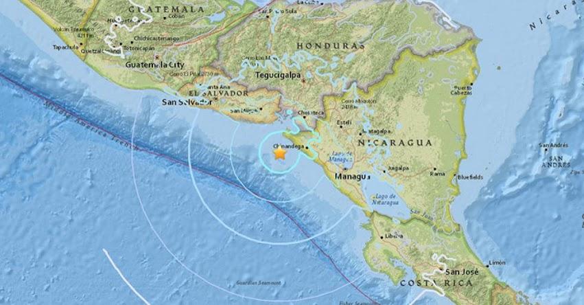 TERREMOTO EN NICARAGUA de Magnitud 5.6 (Hoy Lunes 23 Abril 2018) Sismo Temblor EPICENTRO en Jiquilillo - Managua - En Vivo Twitter - Facebook - USGS