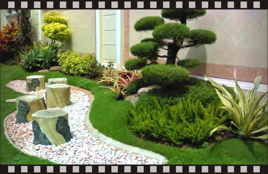 Garden design for home for Beautiful small home gardens