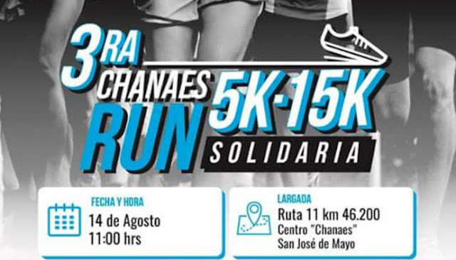 15k y 5k Chanaes Trail Run en San José (14/ago/2016)