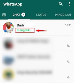 Cara Menghilangkan Status Sedang Mengetik Di WhatsApp Cara Menghilangkan Status Sedang Mengetik Di WhatsApp