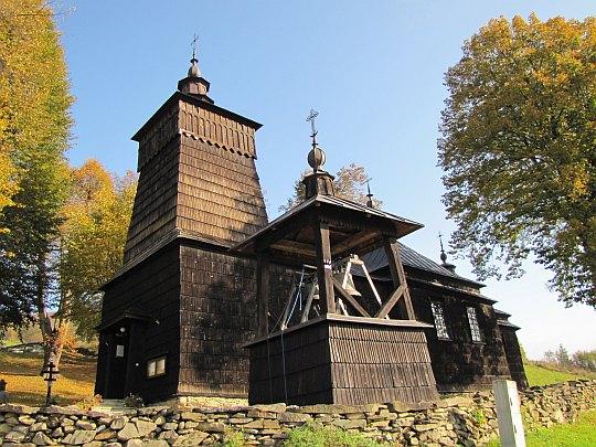 Cerkiew św. Dymitra w Leluchowie.