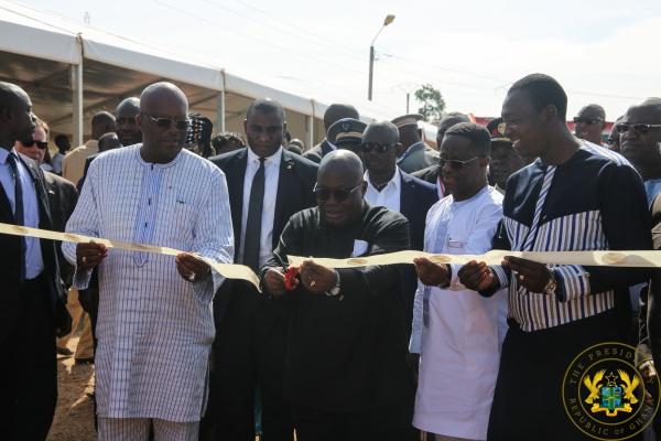 President Akufo-Addo Inaugurates 225kv Bolgatanga-Ouagadougou Power Interconnection Project