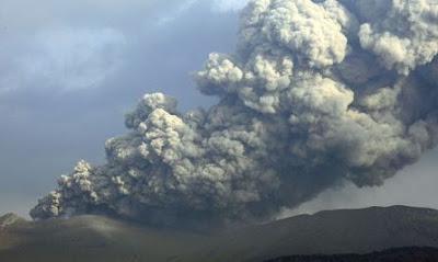 Mount Ontake Eruption in 2014