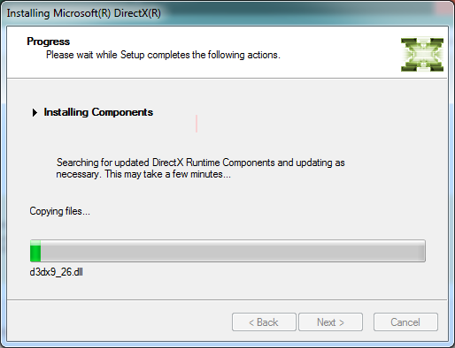 directx 11 for windows 7 32 bit offline installer
