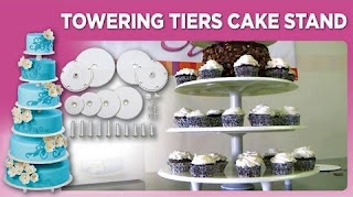 Best Towering Tiers Wedding Cake Stands