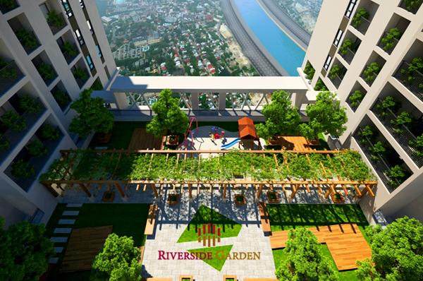Phối cảnh Riverside Vũ Tông Phan
