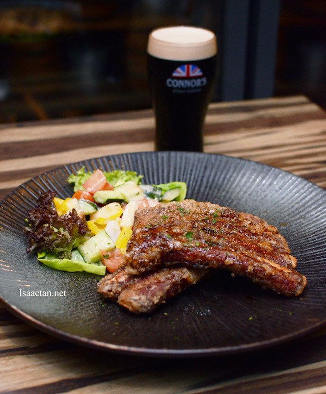The Black Connor's Pork Ribs - RM55++ (Paired with Connor's RM69++)