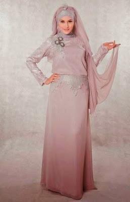 Baju Muslim Bahan Brokat Modern, Model Terbaru