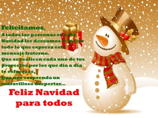 Felicitaciones de navidad para todos postales de navidad